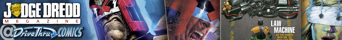 Judge Dredd & The Worlds of 2000 AD RPG and Graphic Novel Bundle Deals!